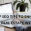 12 Top SEO Tips To Enhance Your Real Estate Website.